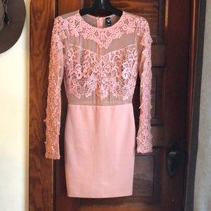 Beautiful long sleeve mini dress